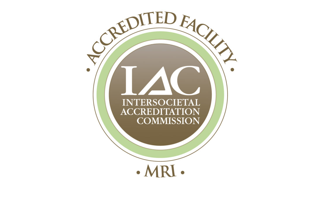 CompOrtho is an accredited facility through the IAC for MRI