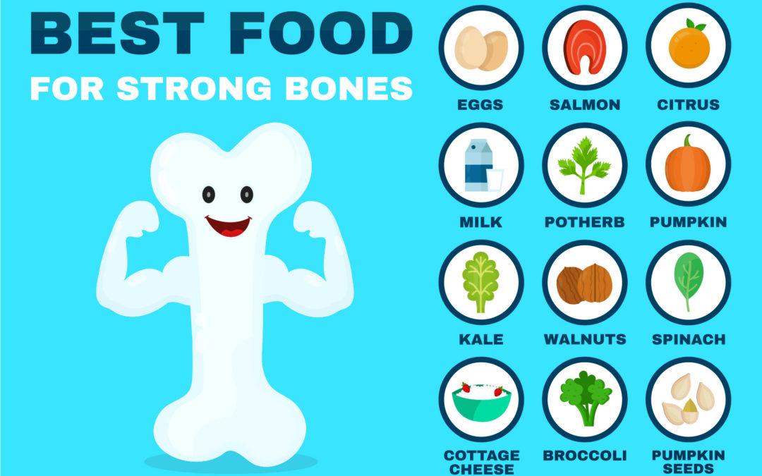Healthful Diet = Healthy Bones
